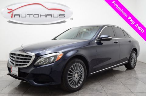 Pre-Owned 2015 Mercedes-Benz C-Class C 300 4MATIC® 4D Sedan