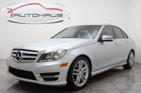Pre-Owned 2012 Mercedes-Benz C-Class C 250 RWD 4D Sedan