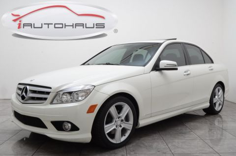 Pre-Owned 2010 Mercedes-Benz C-Class C 300 RWD 4D Sedan