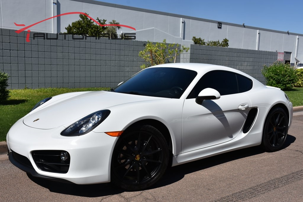 Pre-Owned 2015 Porsche Cayman 6 Speed Manual